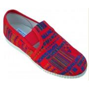 gumičkové papučky červené kódy