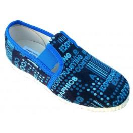 gumičkové papučky modré kódy